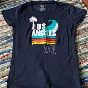 Los Angeles social tee shirt
